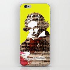 Ludwig van Beethoven 3 iPhone & iPod Skin