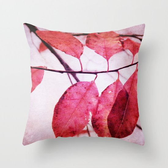 Winter's Breath is coming Throw Pillow