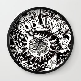 A Love Letter to Sublime Wall Clock