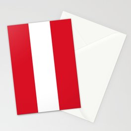 Peru Flag Peruvian Patriotic Stationery Cards