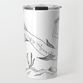Driftless Mermaid Trout Travel Mug