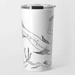 Driftless Mermaid Trout Travel Mug