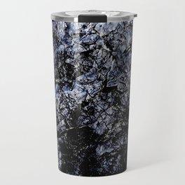 Blue Rock Texture Travel Mug
