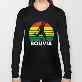 Bolivia Soccer Football BOL Long Sleeve T-shirt