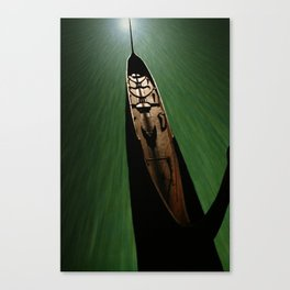 Bonito - green Canvas Print
