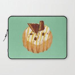 Tim Tam and Coffee Donut Polygon Art Laptop Sleeve