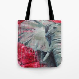 A Shade of Red Tote Bag