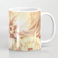 league of legends Mugs featuring League of legends Leona by Rikku Hanari