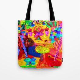 Colorful Feast | Kids Painting Tote Bag