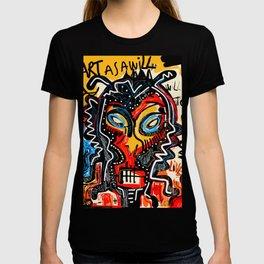 Art as a will to live Graffiti Street Art T-shirt