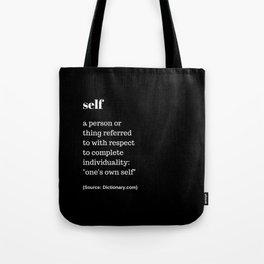 Self Tote Bag