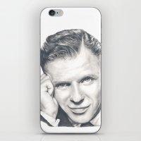 frank sinatra iPhone & iPod Skins featuring Frank Sinatra by Heather Andrewski