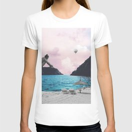 Daydreaming in Pink T-shirt