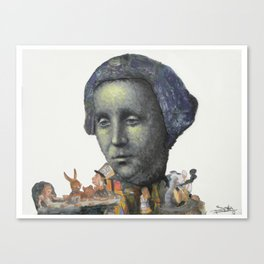 Louis Carrol Canvas Print