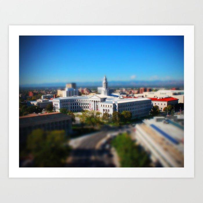 Civic Center Building Art Print