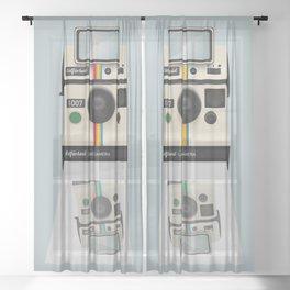 Selfieroid Sheer Curtain