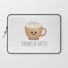 Thanks A Latte Laptop Sleeve