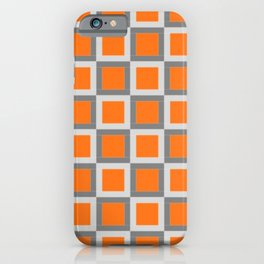 square pattern iPhone Case