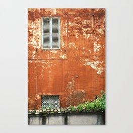 Rusty Housewall Canvas Print