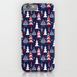 Christmas pattern. iPhone Case