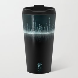 TRON CITY Metal Travel Mug