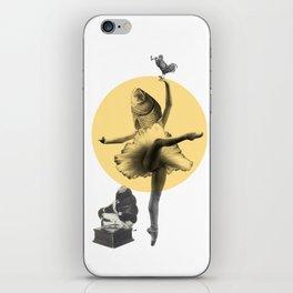 Ballerina Fish iPhone Skin