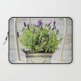 Lavender Chair Laptop Sleeve
