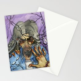 Man in the Mirror Stationery Cards