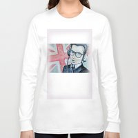 union jack Long Sleeve T-shirts featuring UNION JACK by Vin Zzep