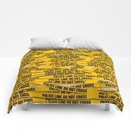 Police Line Comforters