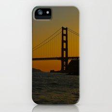 Golden Gate Bridge at Sunset -- San Francisco iPhone (5, 5s) Slim Case