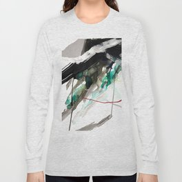 Day 18: Today I gave my mind a rest and let the materials take the lead. Long Sleeve T-shirt