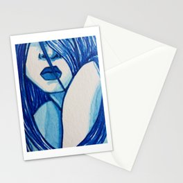 Sitting With The Feelings  (Close-up) Stationery Cards