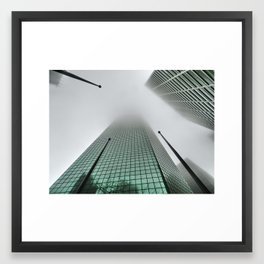 North Haze Framed Art Print