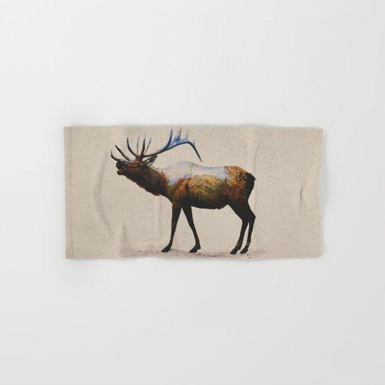 The Rocky Mountain Elk Hand & Bath Towel