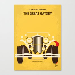 No206 My The Great Gatsby mmp Canvas Print