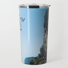 The Earth is all we have in Common Travel Mug
