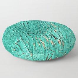 Shedding Green Floor Pillow