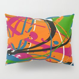 Wet Paint no. 04 Pillow Sham