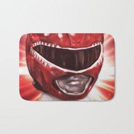 Red Power Ranger Bath Mat