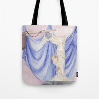 nike Tote Bags featuring Nike by Katerina Skassi