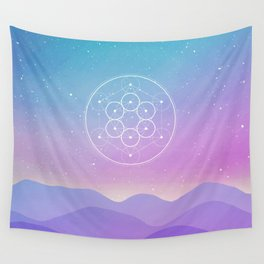 Fruit Of Life Wall Tapestry
