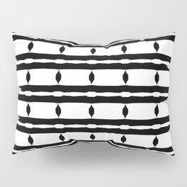 Black & White Pattern Pillow Sham