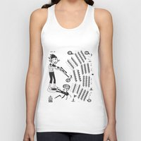 battlefield Tank Tops featuring SORRY I MUST RUN - ULTIMATE WEAPON ARROW [FINAL ROUND] by PAUL PiERROt