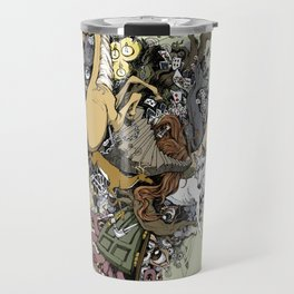 This Is Your Brain On Art Travel Mug