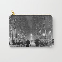Strangers in the snow Carry-All Pouch