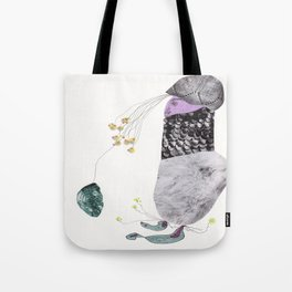 Catching water drops  Tote Bag