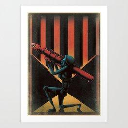 The Receiver Art Print