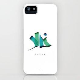 Khaled iPhone Case