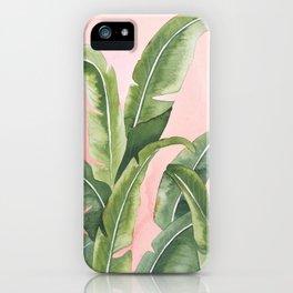 """""""Blushing Palms"""" iPhone Case"""